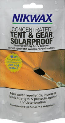 NIKWAX Tent&Gear Solarproof 150ml sachet concentrate (after dilution 500ml)